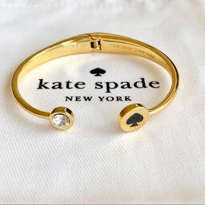 Last one! Kate Spade Logo Cuff - Black